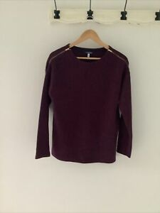 joules Breeya Dark Plum jumper/sweatshirt size 10 | eBay
