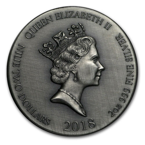 Biblical Series 2018 2 oz Silver Coin John the Baptist - SKU#160187