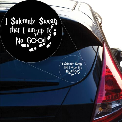 Harry Potter I solemnly swear i/'m up to no good Decal Sticker # 1160