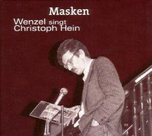 HANS-ECKARDT-WENZEL-MASKEN-WENZEL-SINGT-CHRISTOPH-HEIN-CD-NEW