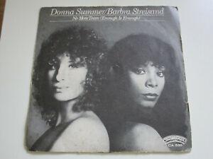 45 Giri Vinile Donna Summer Barbra Streisand No More Tears Enough To Enough Ebay