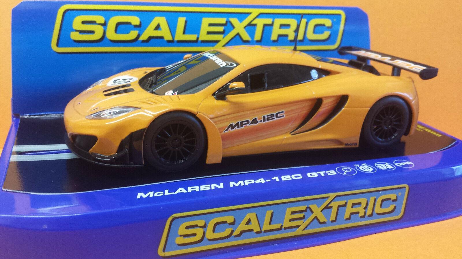 Scalextric C3281 McLaren MP4-12C GT3  59 super résistant.