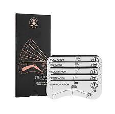 ANASTASIA - 5 Eyebrow Stencils Shaper Grooming Kit Brow MakeUp Tool Reusable