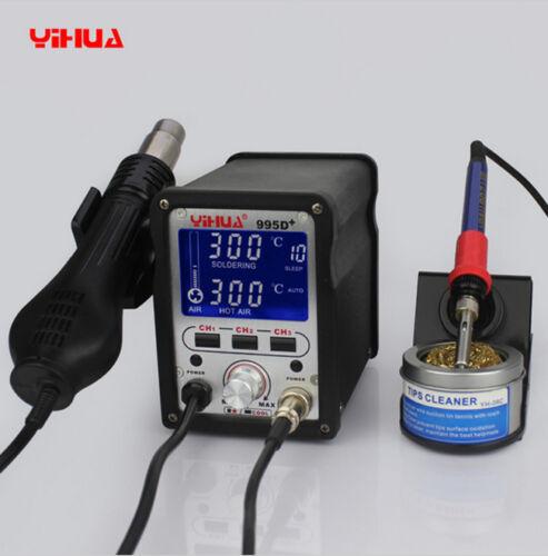 Yihua 995d 2 En 1 720w SMD estación de soldadura utilizados para Placa Madre reparación HERRAMIENTAS