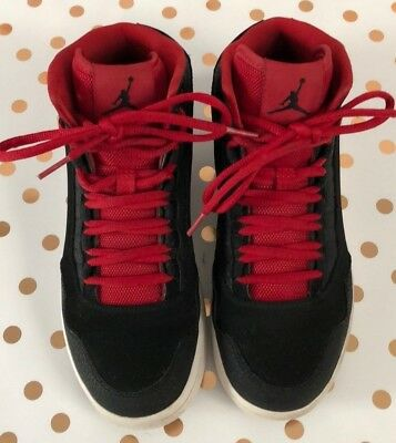 820241-001 Nike Air Jordan Executive GS Black//Gym Red-White 4-7 New In Box