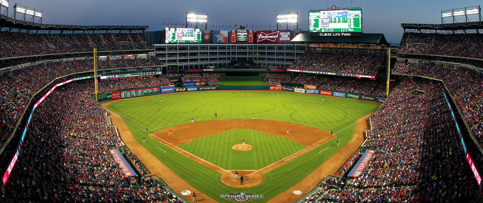 Cleveland Indians at Texas Rangers Tickets (Snow Globe and Fireworks)