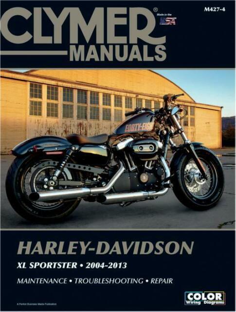 Clymer Shop Repair Manual Harley