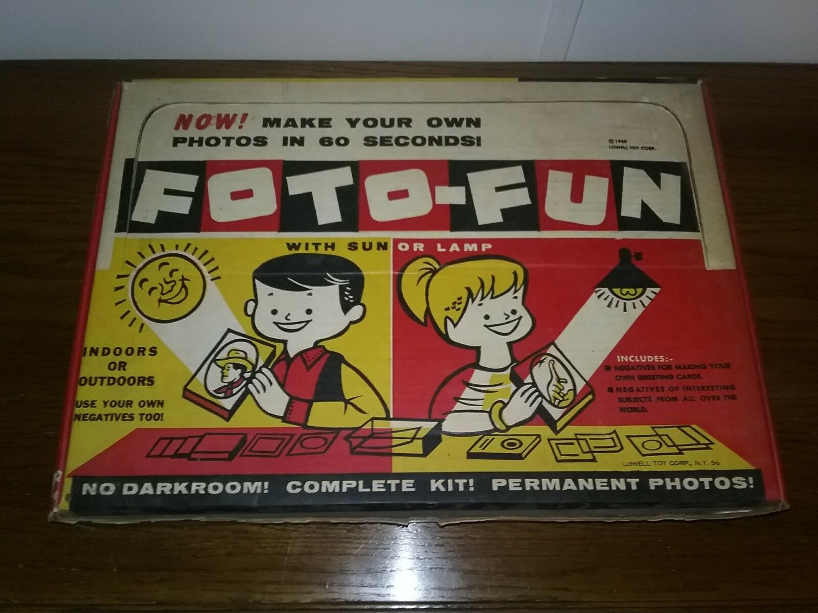 Vintage 1960 FOTO-FUN  by Lowell Part  Create Create Create Photos & Negatives 27d166