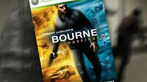 GIOCO-XBOX-360-ROBERT-LUDLUM-039-S-THE-BOURNE-CONSPIRACY-VERS-ITALIANA