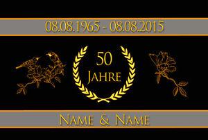 Details Zu Fußmatte Goldene Hochzeit Geschenk Namen Eltern Opa Oma 50 Jahre Türvorleger