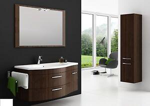 badm bel set vena 110 cm badezimmer m bel badset mit waschbecken ebay. Black Bedroom Furniture Sets. Home Design Ideas