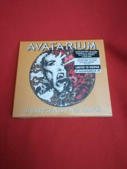 AVATARIUM - Hurricanes And Halos - Limited Digipak - NEU & OVP