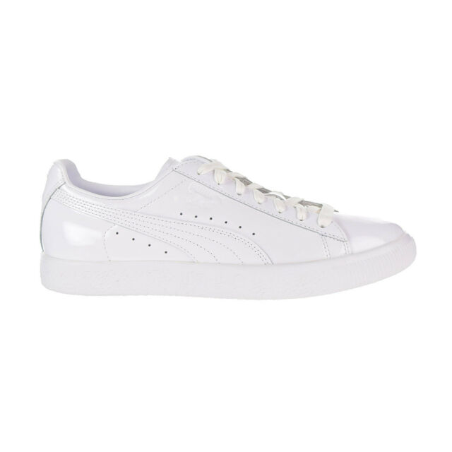 ef45275068a7 PUMA Clyde Dressed Part Three Court Shoes Men s Size 10.5 White for ...