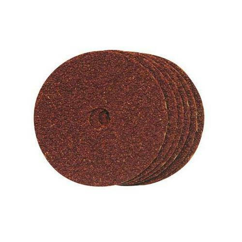 10 Pack 60 Grit Silverline 228547 Fibre Discs 100 x 16 mm