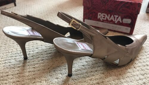 Print Rrp£195 Court Detail Gold Renata Animal With 5 Shoe 39 bnib g6O7qzx