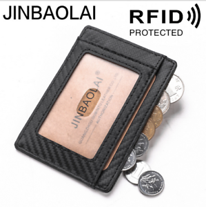 Men-039-s-Classic-Leather-Anti-magnetic-Slim-Wallet-Case-Credit-Card-Holder-ID-Purse