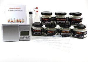 Maxi Set Molekulare Küche, Molekularküche, Texturgeber von Texturas ...