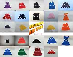 1x Custom Long Robe replacement MiniFig Lego Cape Great for Star Wars Sith Darth