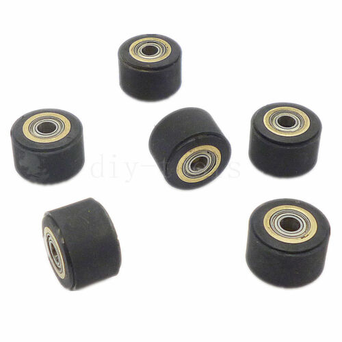 6pcs/lot 4mmx11mmx16 mm Copper Core Pinch Roller For Roland Vinyl Plotter Cutter