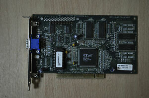 STB Systems  Rev B S3 Trio64 FCC ID : EKSVSA764PCI Powergraph 64   SFF 1.1 WORKS
