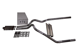 """Ford F150 15-18 2.5/"""" Dual Exhaust Magnaflow Muffler weld on tips"""