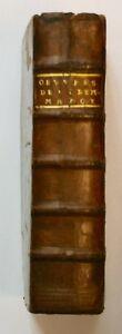 Clement-Marot-de-Cahors-Oeuvres-2-tomes-en-1-volume-La-Haye-1702