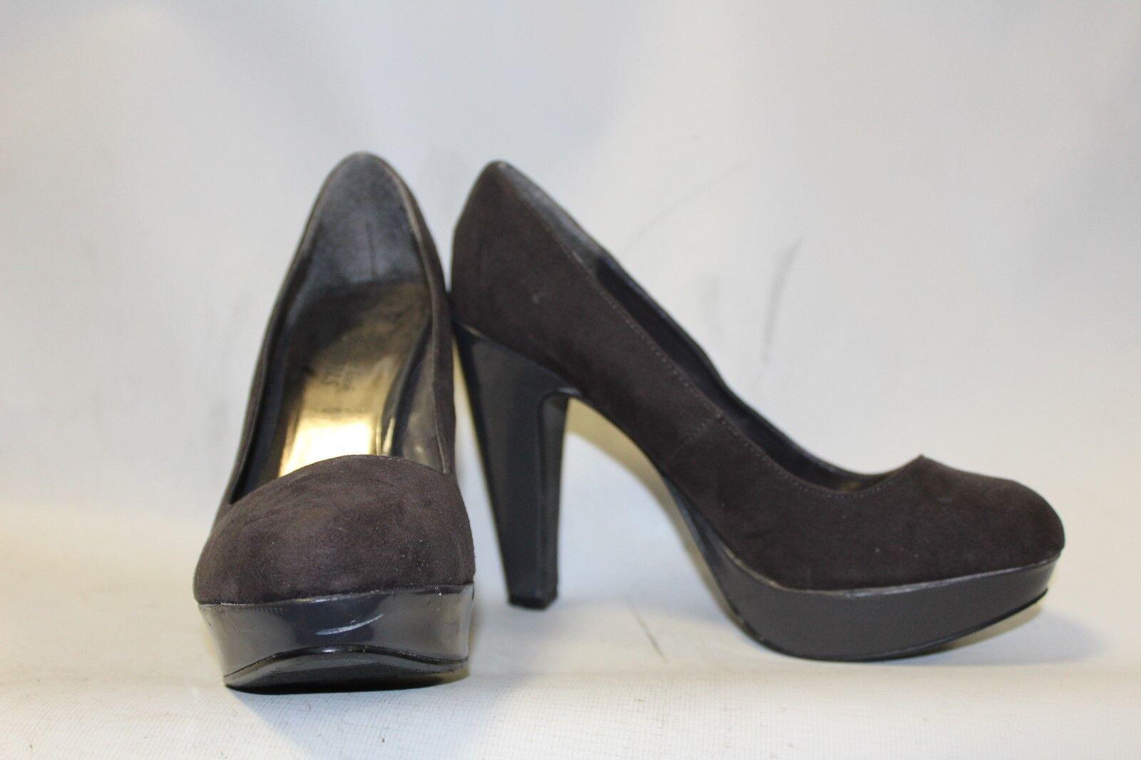 Moda jest prosta i niedroga Ladies Grey Platform Shoes Size 38 uk 5 New Look