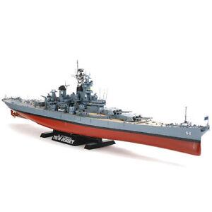 Tamiya 78028 New Jersey (avec détail) Kit de maquette de bateau pour 1: 350 4950344780280
