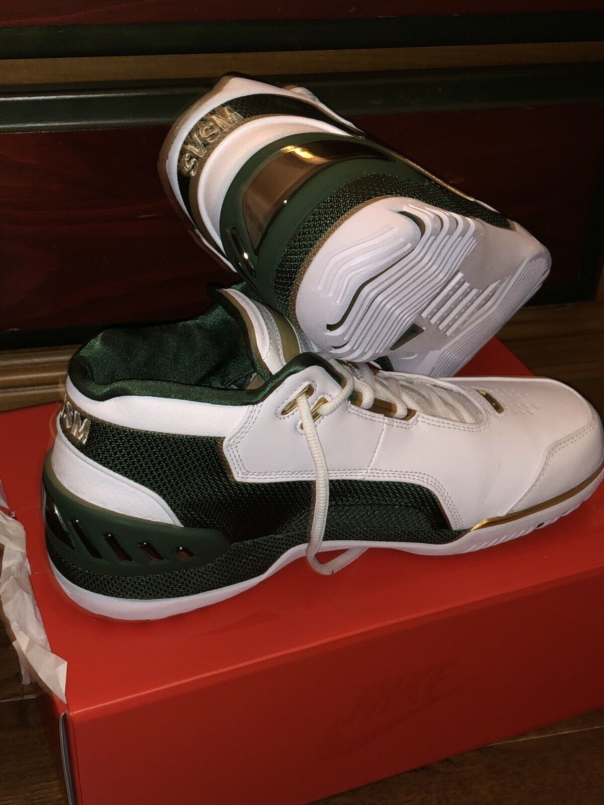 finest selection 8053f 4b7f7 Nike Air Zoom Zoom Zoom Generation SVSM QS size 10.5 Lebron 1 2018 727d92