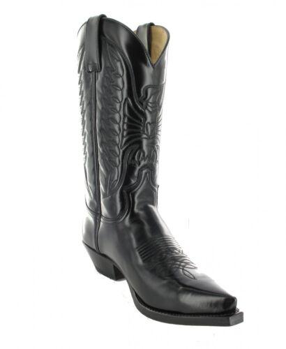 Negro 2073 Westernstiefel Sendra Cowboystiefel Stiefel Boots qttS8E
