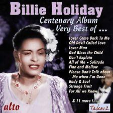 CD BILLIE HOLIDAY VERY BEST CENTENARY ALBUM LOVER MAN THAT OLD DEVIL STRANGE FRU