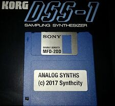 Analog Synth Patches for Korg DSS-1 Sampler Pro! DSS1 -NEW!