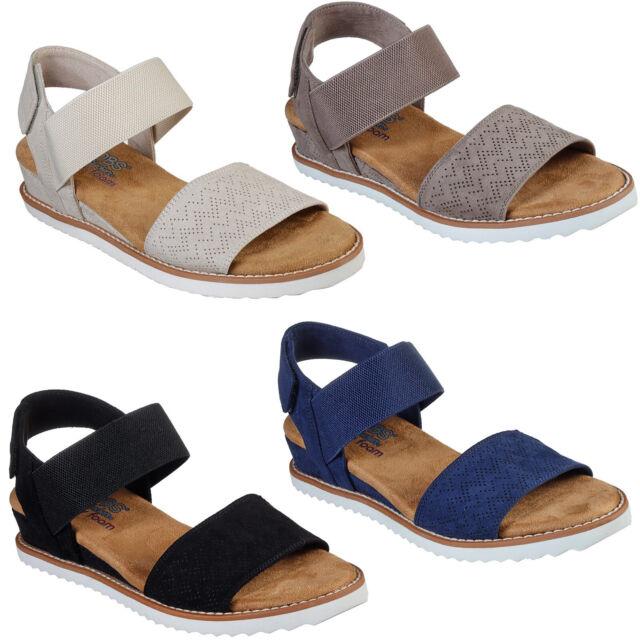 Skechers Bobs Womens 7 Sandals Boho