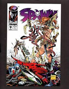 Spawn-9-Image-Comics-Todd-McFarlane-1st-print-1st-Appearance-of-Angela-NM-B526