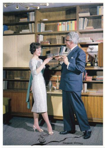 Werbung für Energieversorgung 1960er Jahre Ludwig Windstosser Kunstpostkarte