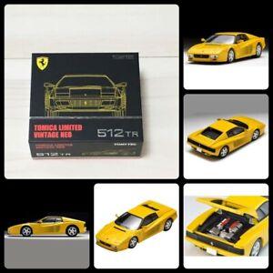 TOMICA LIMITED Vintage Neo Ferrari 512TR Jaune TOMY Mall Limited 1/64 Japan F/S