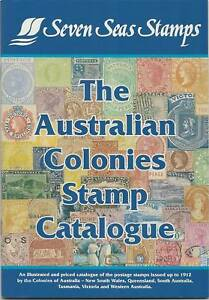 SEVEN-SEAS-AUSTRALIAN-COLONIES-STAMP-CATALOGUE-in-Colour