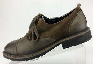 Zapatos De Vestir Robert Wayne Oxfords marrón Gamuza Cuero