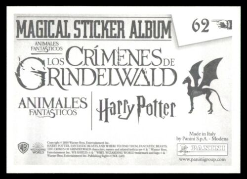 Harry Potter Panini Fantastic Beasts 62 : The Crimes of Grindelwald No
