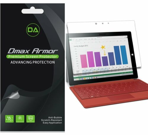 3-Pack Dmax Armor Anti-Glare Matte Screen Protector for Microsoft Surface 3