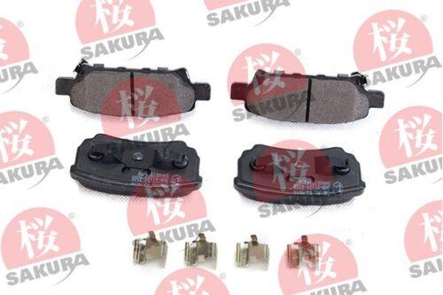 Sakura Bremsbelagsatz Frein À Disque 601-50-4350 pour Mitsubishi Lancer Arrière 8