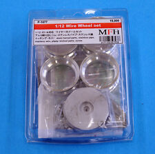 1/12 FERRARI WIRE WHEELS KIT BY MFH JAPAN
