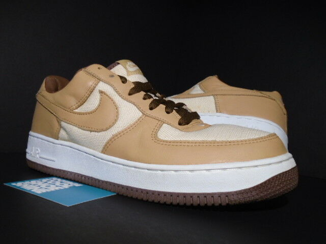 2018 Nike Air Force 1 Low NATURAL UNDERBRUSH ACORN BROWN WHITE 624040-121 11