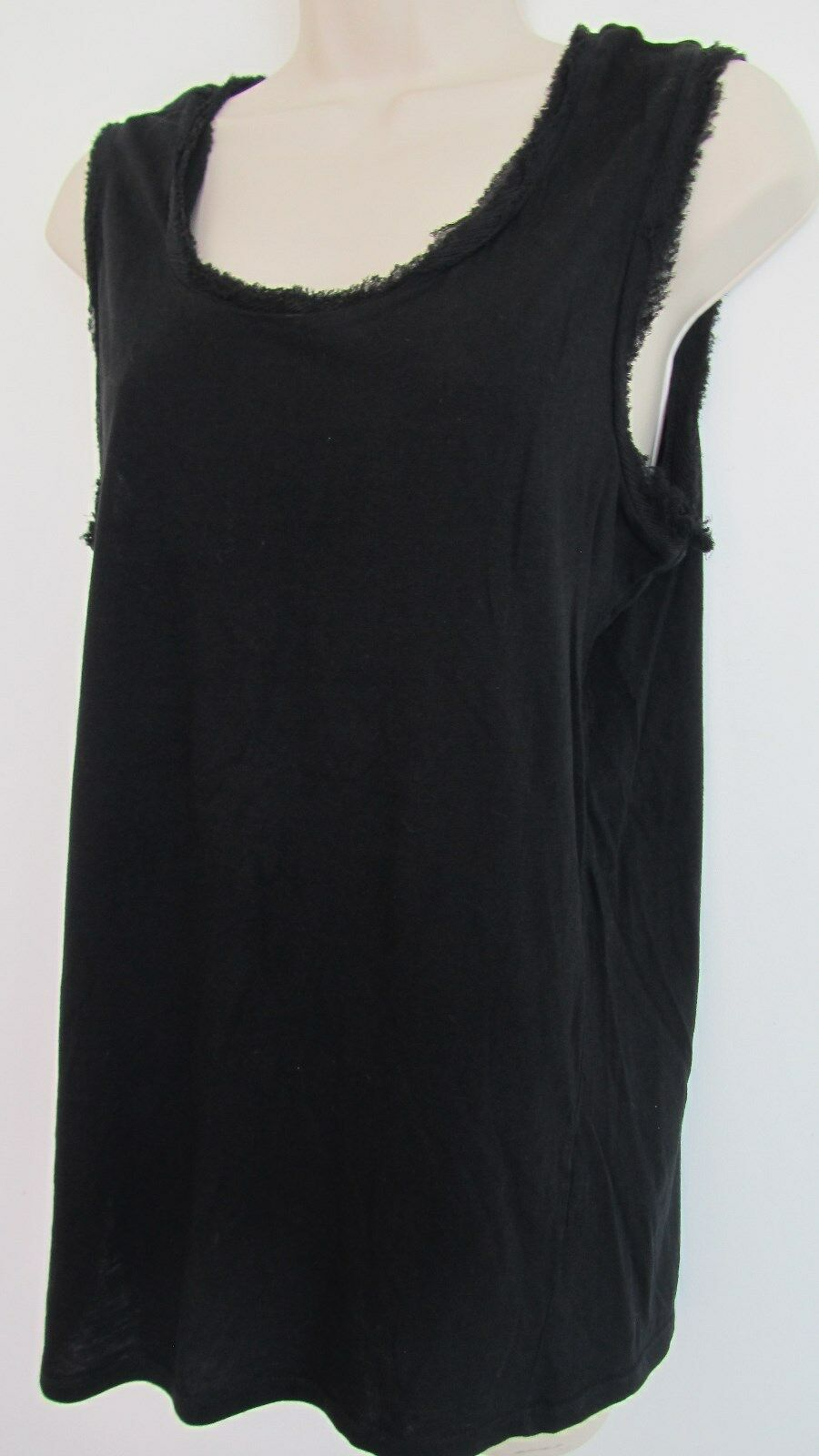 Lanvin Cotton Silk Tee Tank Top Shirt  Größe :L