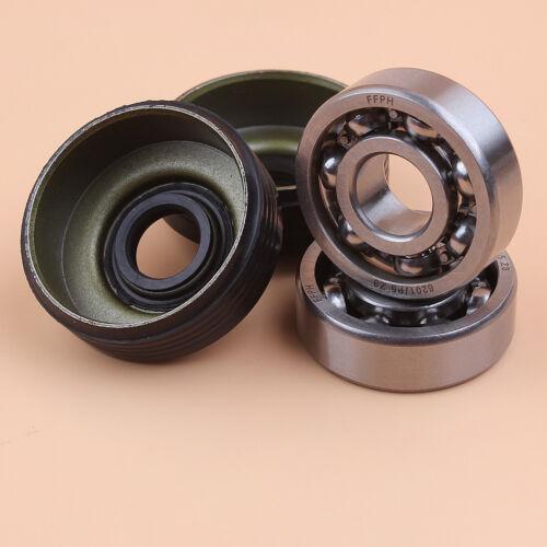 Crankshaft Ball Bearing Oil Seal Kit For Jonsered 2035 2036 2040 CS2040 Chainsaw