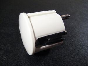 10 X Schuko Angle Connecteur-blanc-brillant Vde 240v-afficher Le Titre D'origine Yrvpxtyz-07172610-587898661