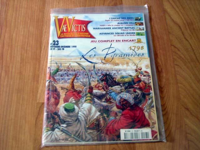 VAE Victis-les destacada (las pirámides) 1798-juego francés (unpun) napoleónicas