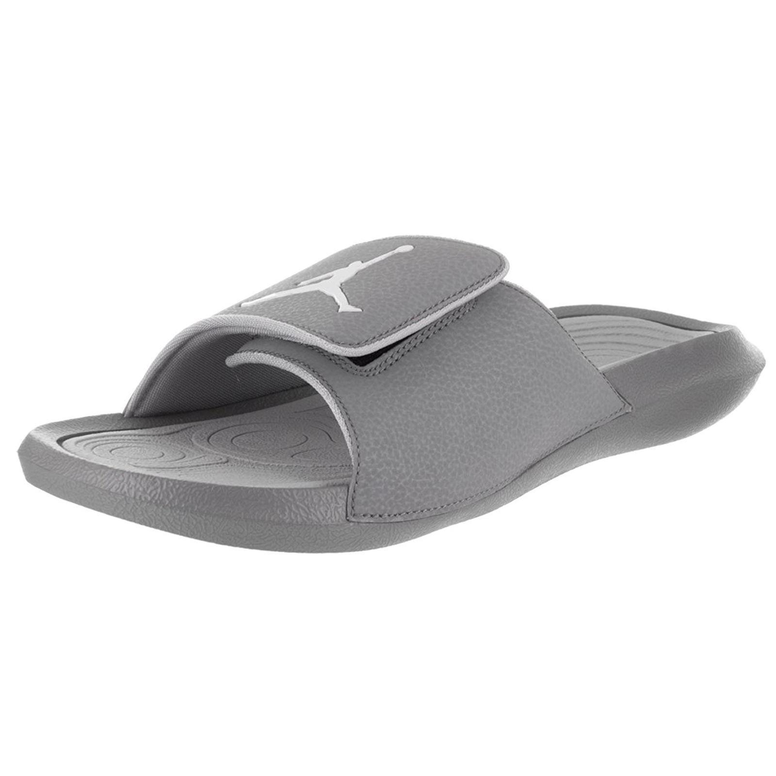 Nike Hydro 6 Cool Grey Mens Beach Slides Sandals