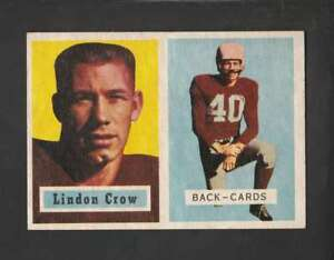 1957-Topps-91-Lindon-Crow-EX-EX-DP-152203