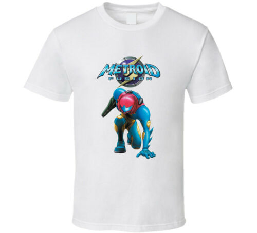 Metroid Fusion Video Game Retro T-shirt Mens Tee Many Colors Gift New From US...